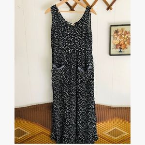 Vintage Light & Airy Floral Maxi Dress